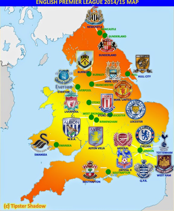 English Premier League Stadiums