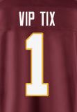Buy Washington Redskins Tickets from VIPTIX.com!